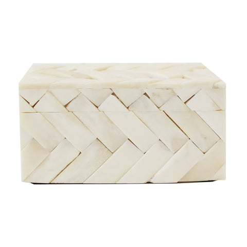 Bone Quilted Box