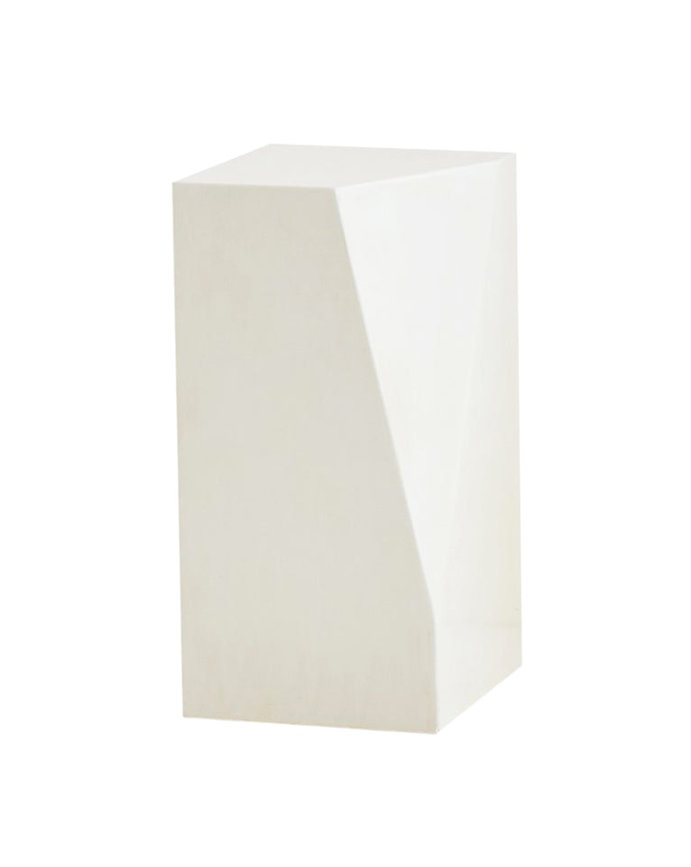 Albin Faceted Pedestal