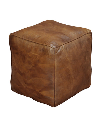 Aldo Leather Pouf