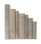 Distressed Canvas Books
