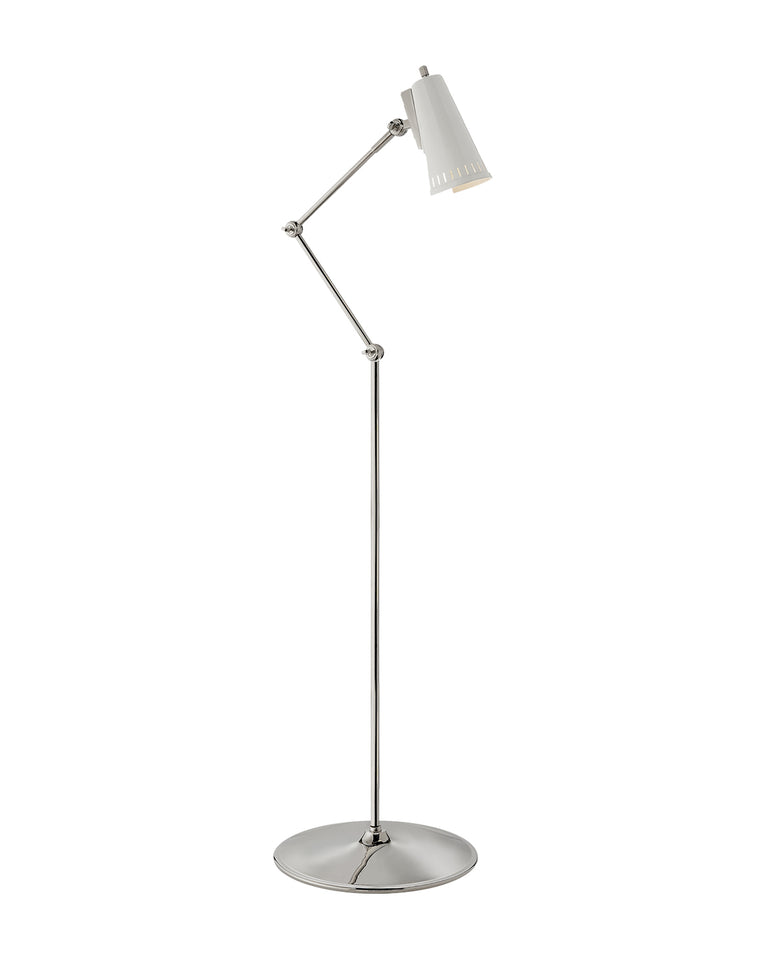 Antonio articulating floor lamp mcgee co for Led articulated floor lamp