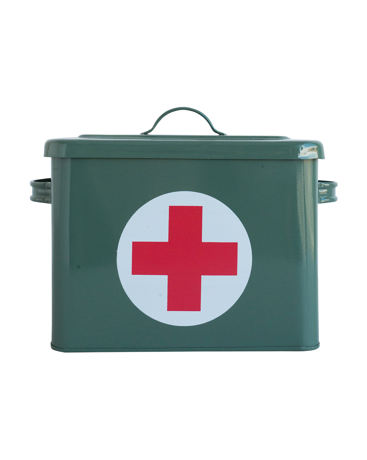 Army Green First Aid Box