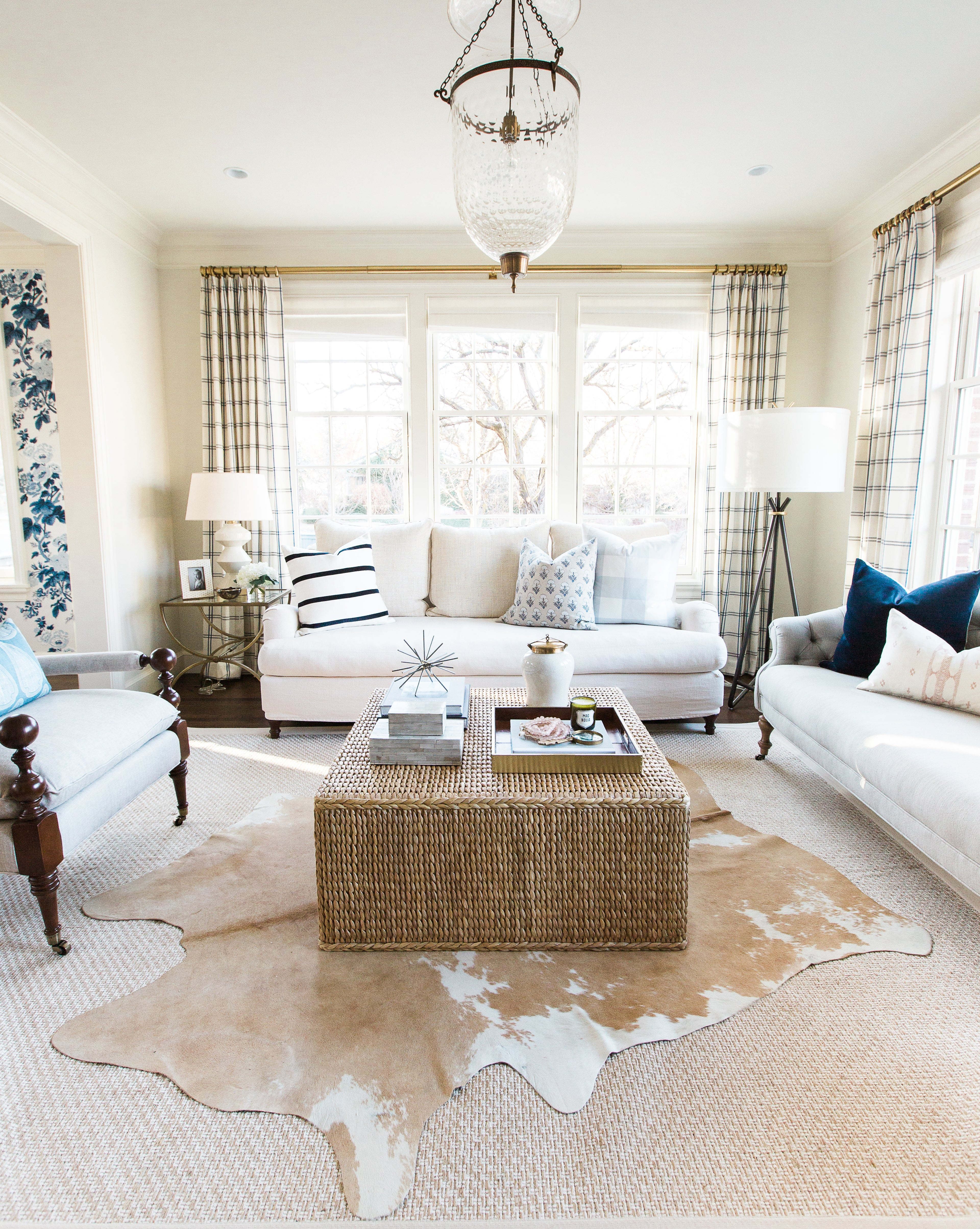 Austin Cowhide | Quality Floor Decorating | McGee & Co.