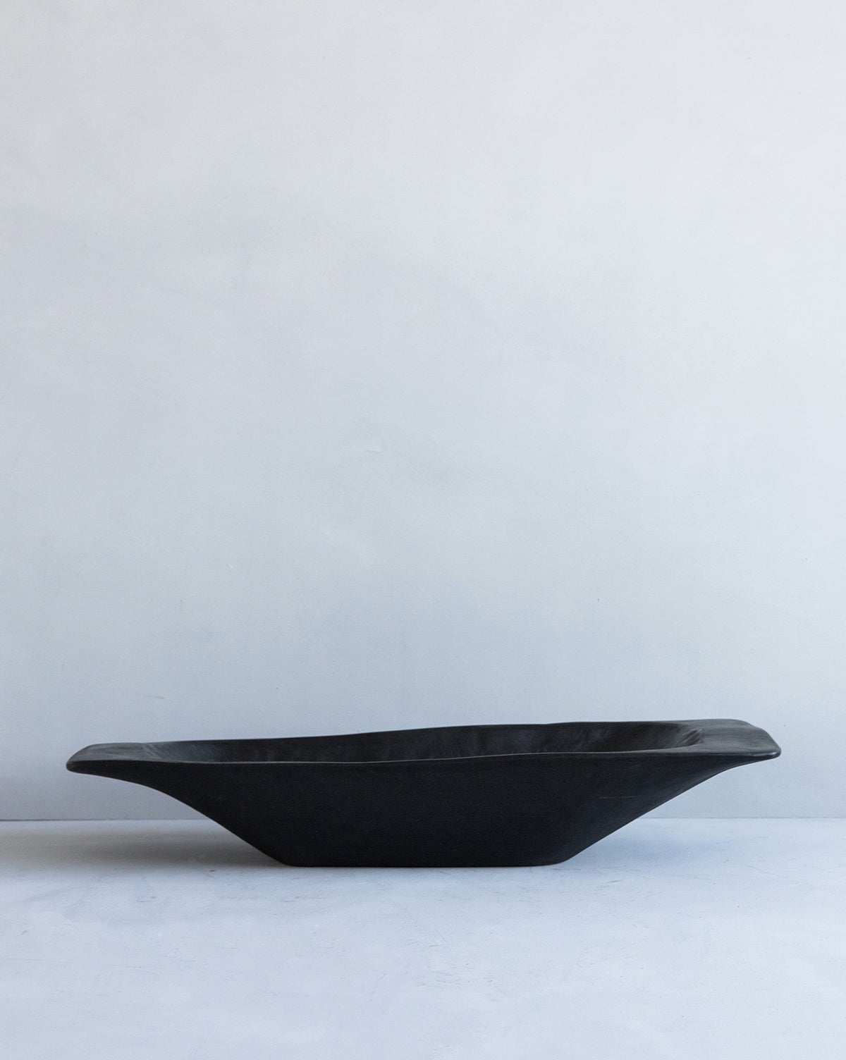 Black Vintage Dough Bowl