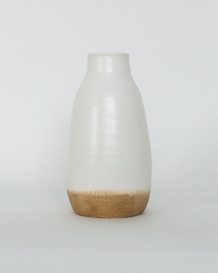 Banded Bottom Vase