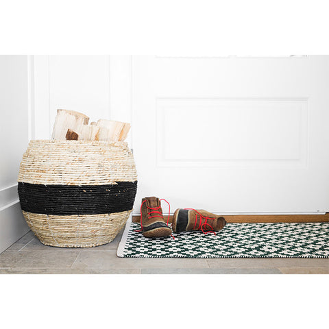 Black Stripe Baskets