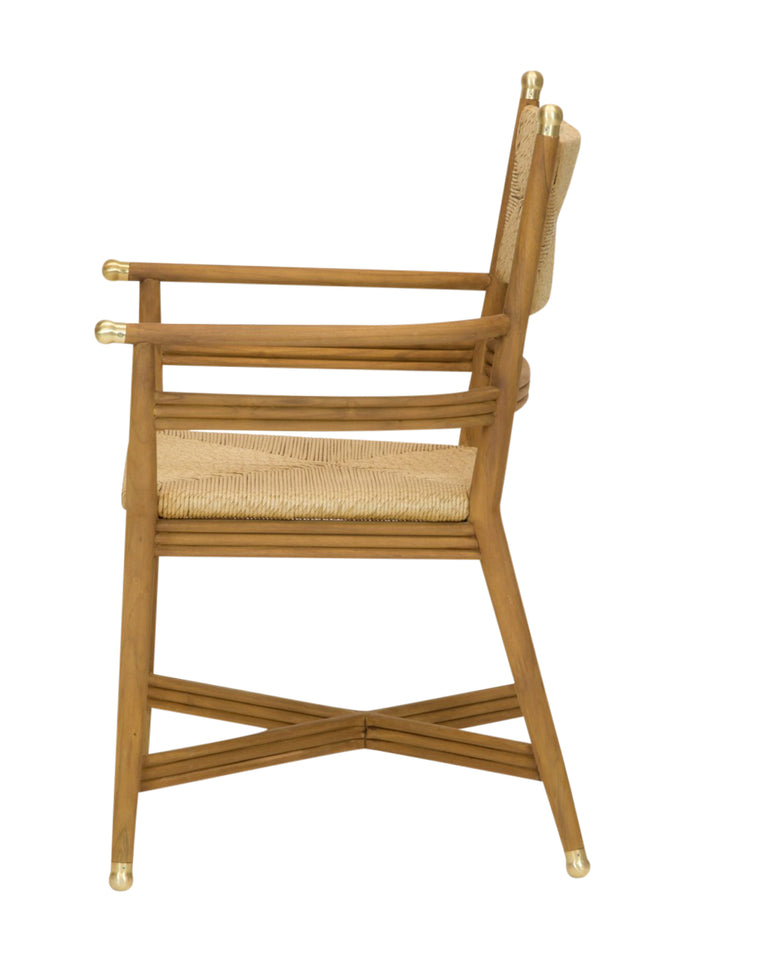 Kelmscott Rush Arm Chair