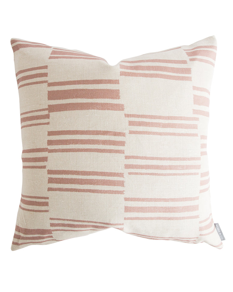 Beverly Pillow Cover - Come get ideas to Steal this Look: Laid Back Cali Slightly Boho Chic in HOME AGAIN With Reese Witherspoon.