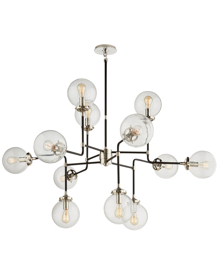 Bistro medium chandelier mcgee co - Lamparas de pie maison du monde ...