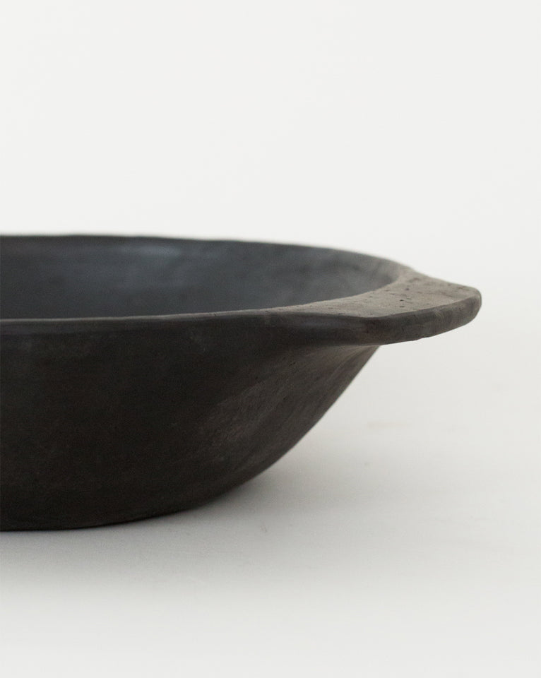 Brushed Black Serving Bowl