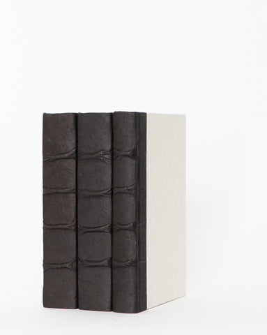 Black Parchment Book