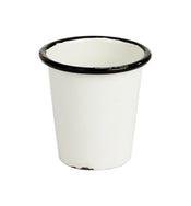 Black Rimmed Mini Pot