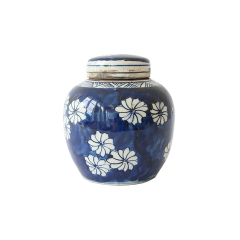 Blue and White Mini Jars