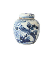 Blue & White Mini Jars