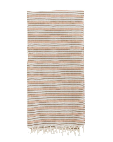 Blush Stripe Hand Towel