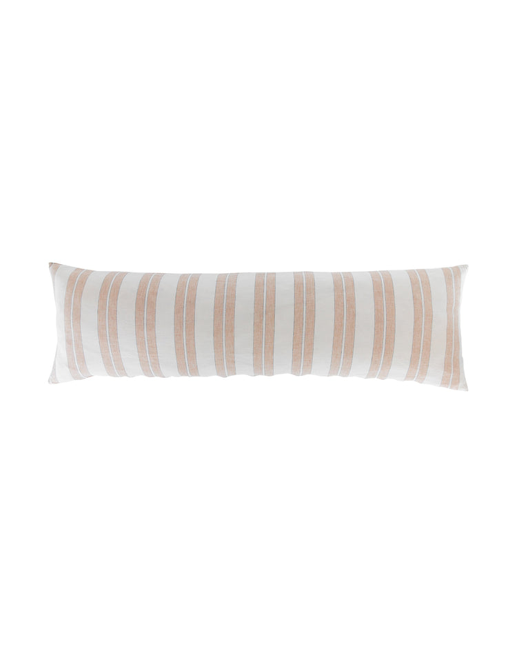 Blushing Stripes Headboard Cushion Pillow