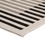 Bordeaux Stripe Indoor / Outdoor Rug