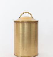 Brass Finished Canisters