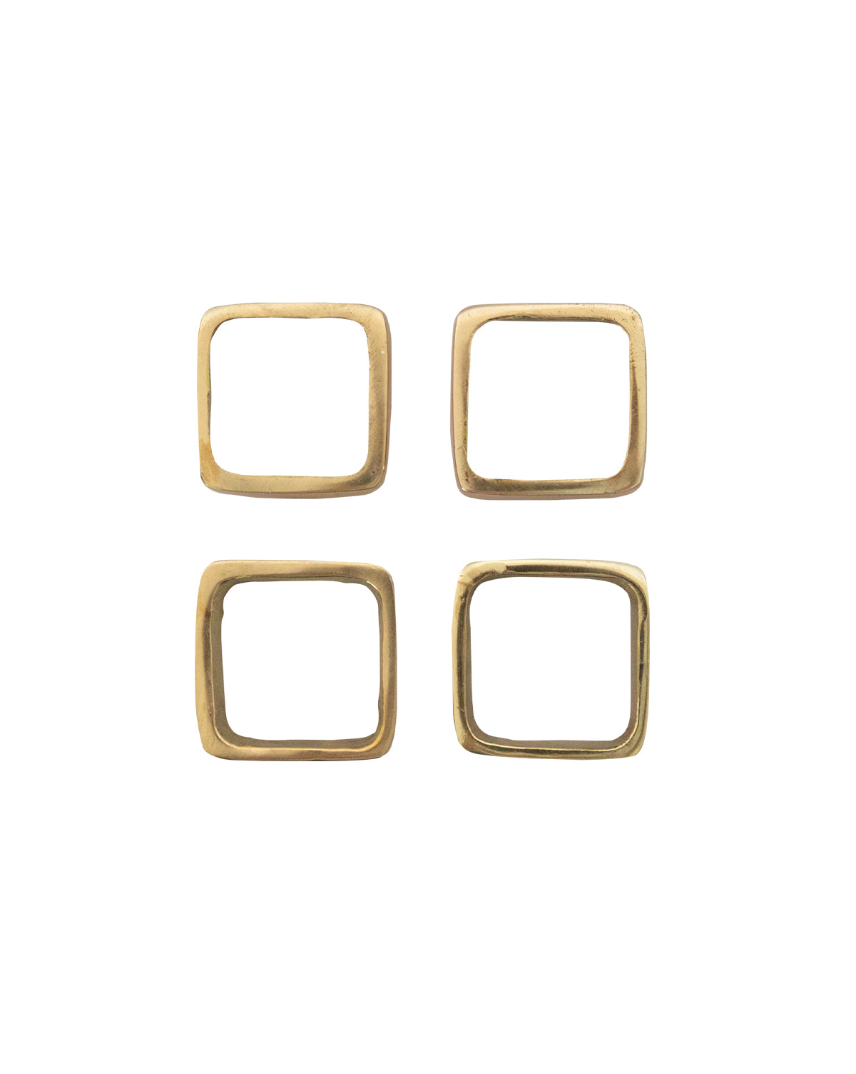 Brass Napkin Rings (Set of 4)