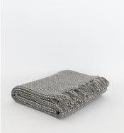 Broken Weave Cotton Throw
