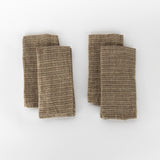 Brown Striped Napkin (Set of 4)