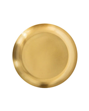 Brushed Brass Tray