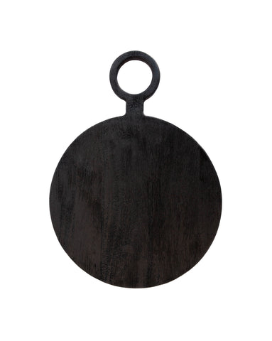 Brushed Black Round Board