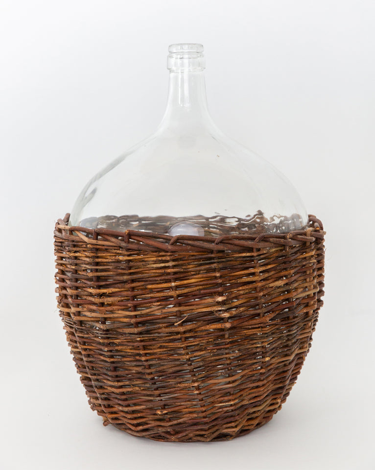 Caged Willow Jar