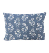 Camille Navy Floral Pillow Cover