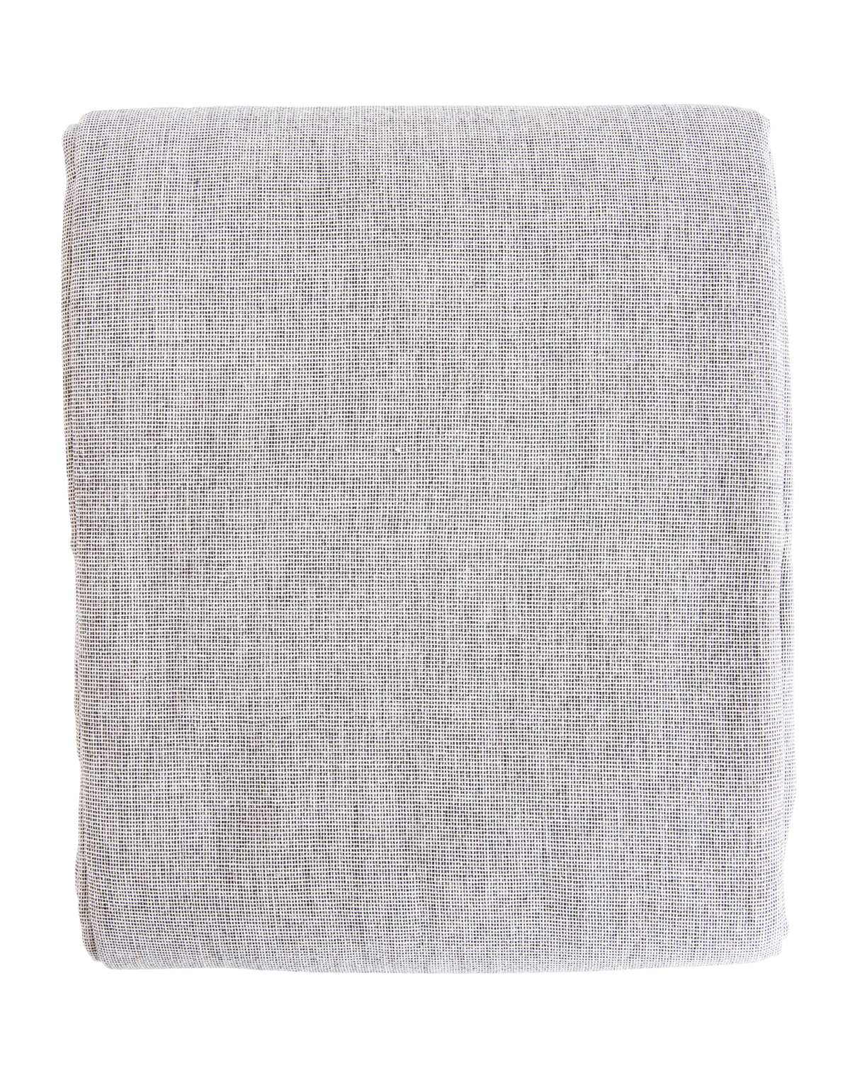 Chambray Check Shower Curtain McGee Co