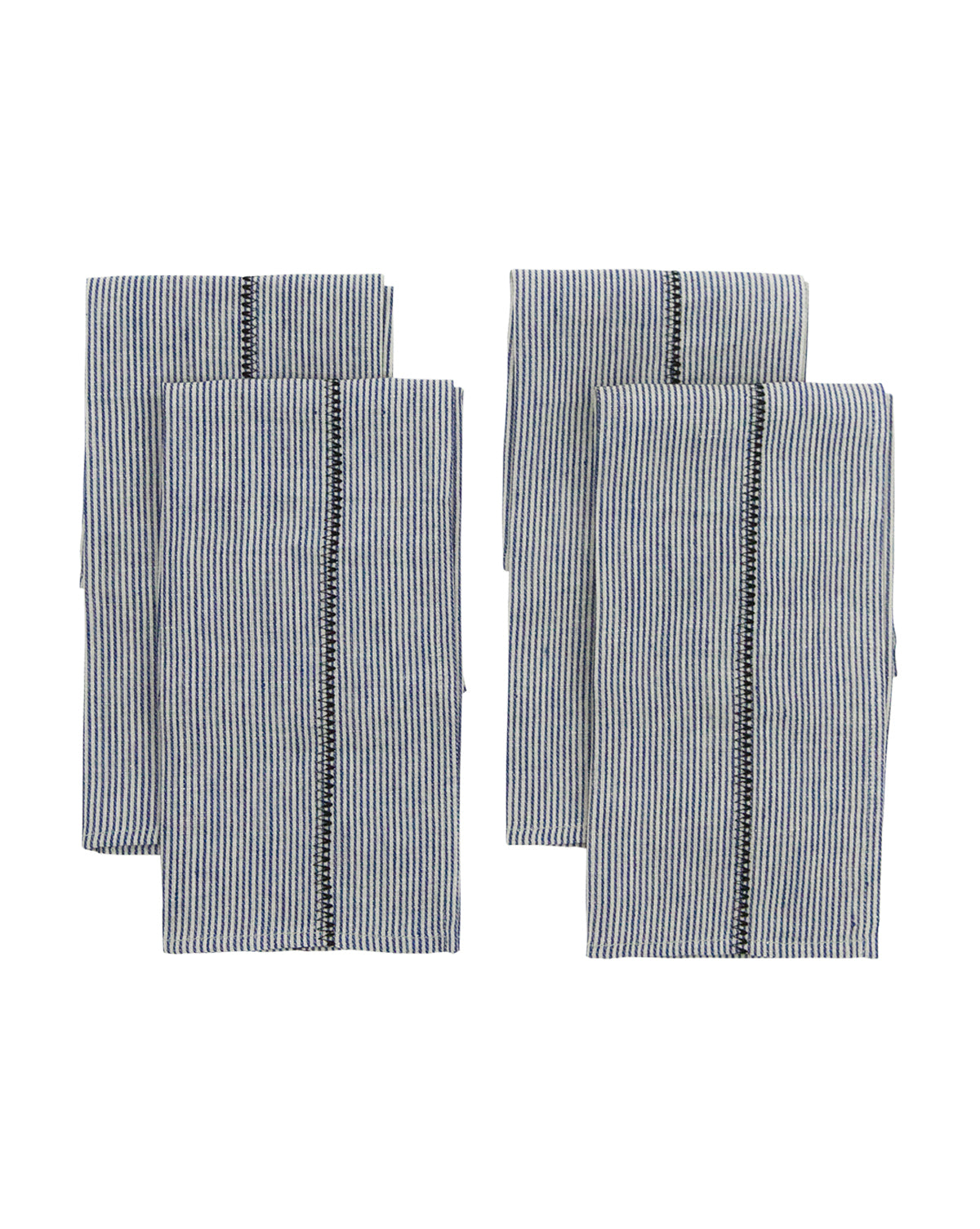 Chambray Stripe Napkins (Set of 4)