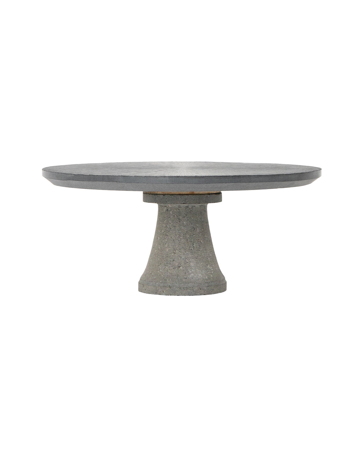 Charcoal Stone Cake Stand