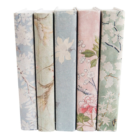 Chinoiserie Books, Set of 5