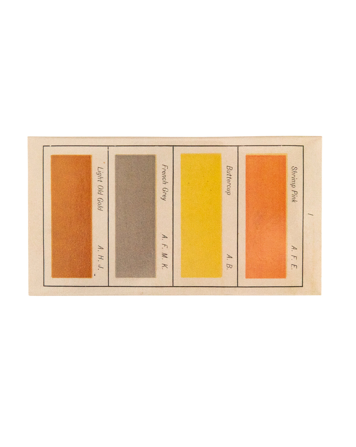 Color Swatch Matchbox