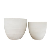 Contemporary Tapered Planters (Set of 2)