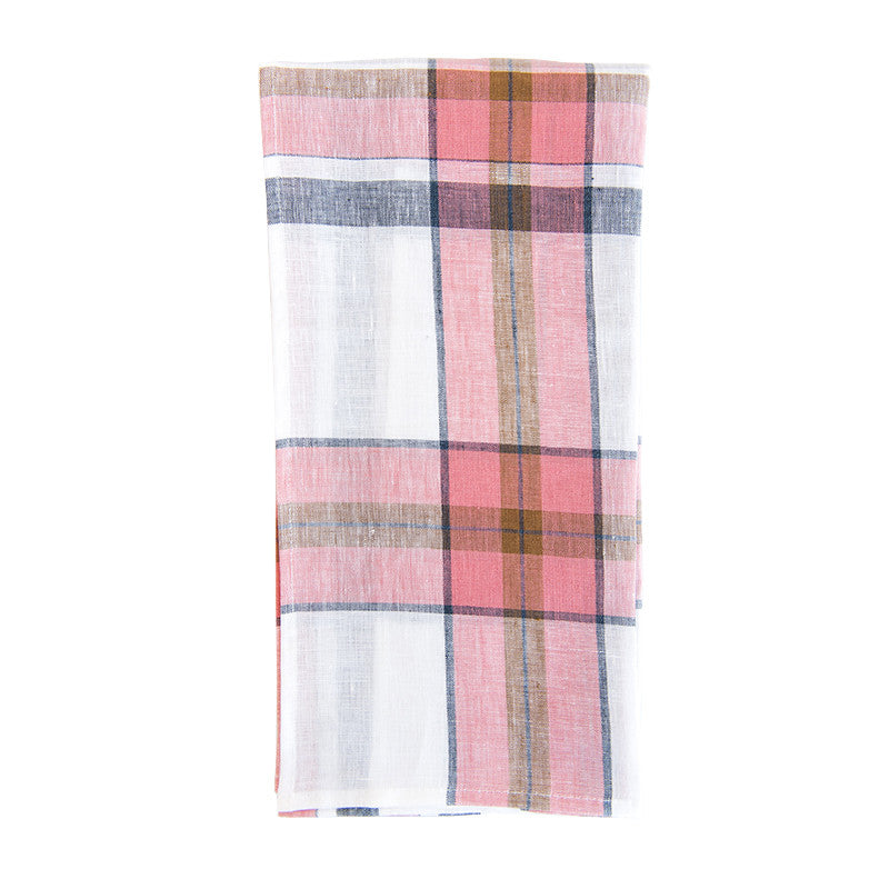 Country Club Plaid Tea Towel