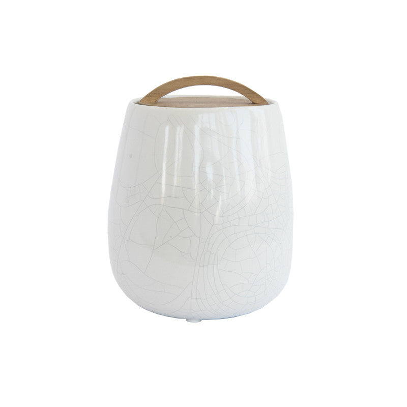 Crackle Glaze Jar