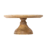 Crafted Wood Cake Stand