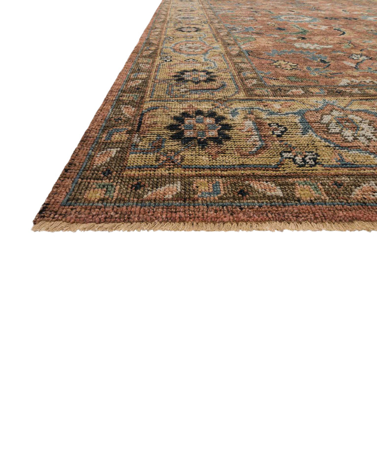 Delhi Hand-Knotted Wool Rug