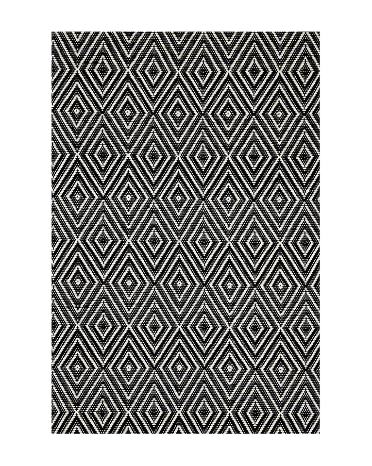 Diamond Black Indoor / Outdoor Rug