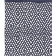 Diamond Navy Indoor / Outdoor Rug