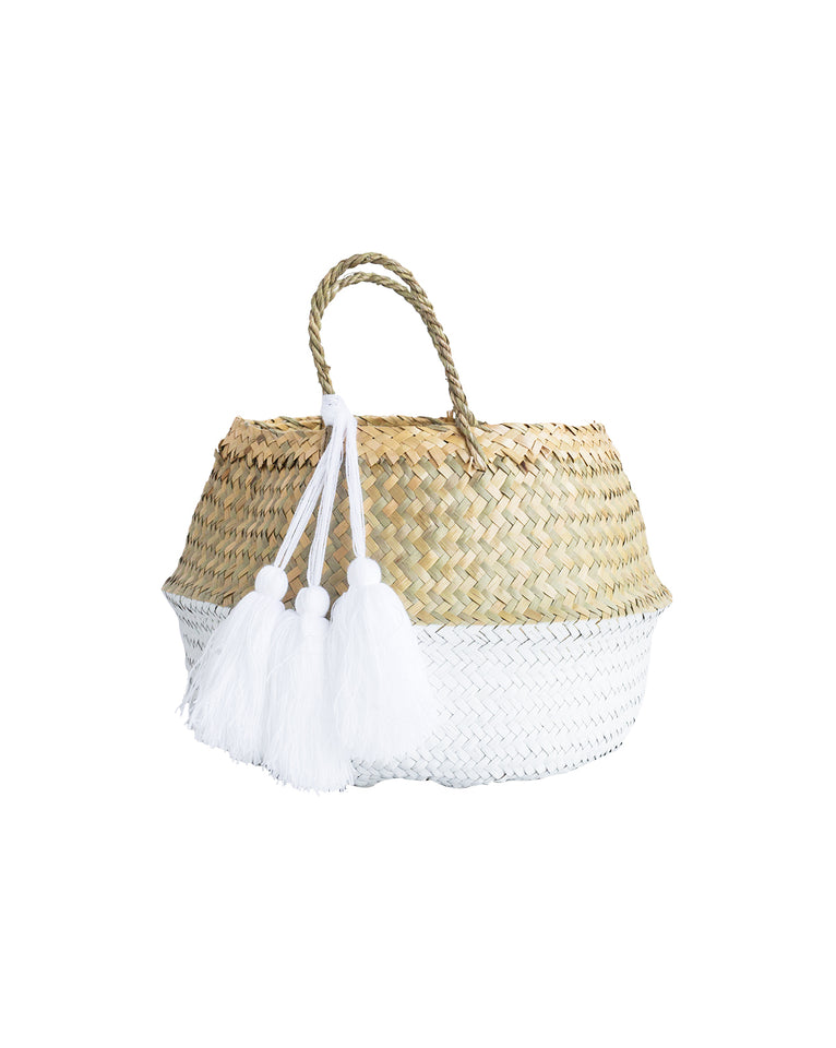 Dipped Palm Basket