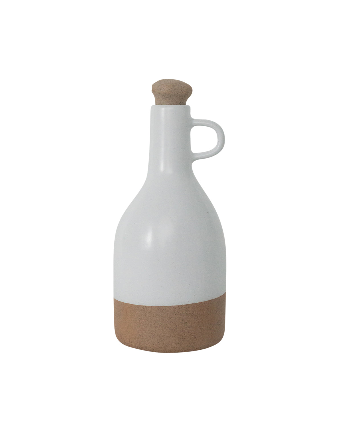 Dipped White Decanter