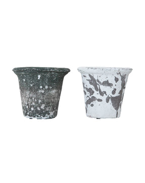 Distressed Clay Pots (Set of 2)