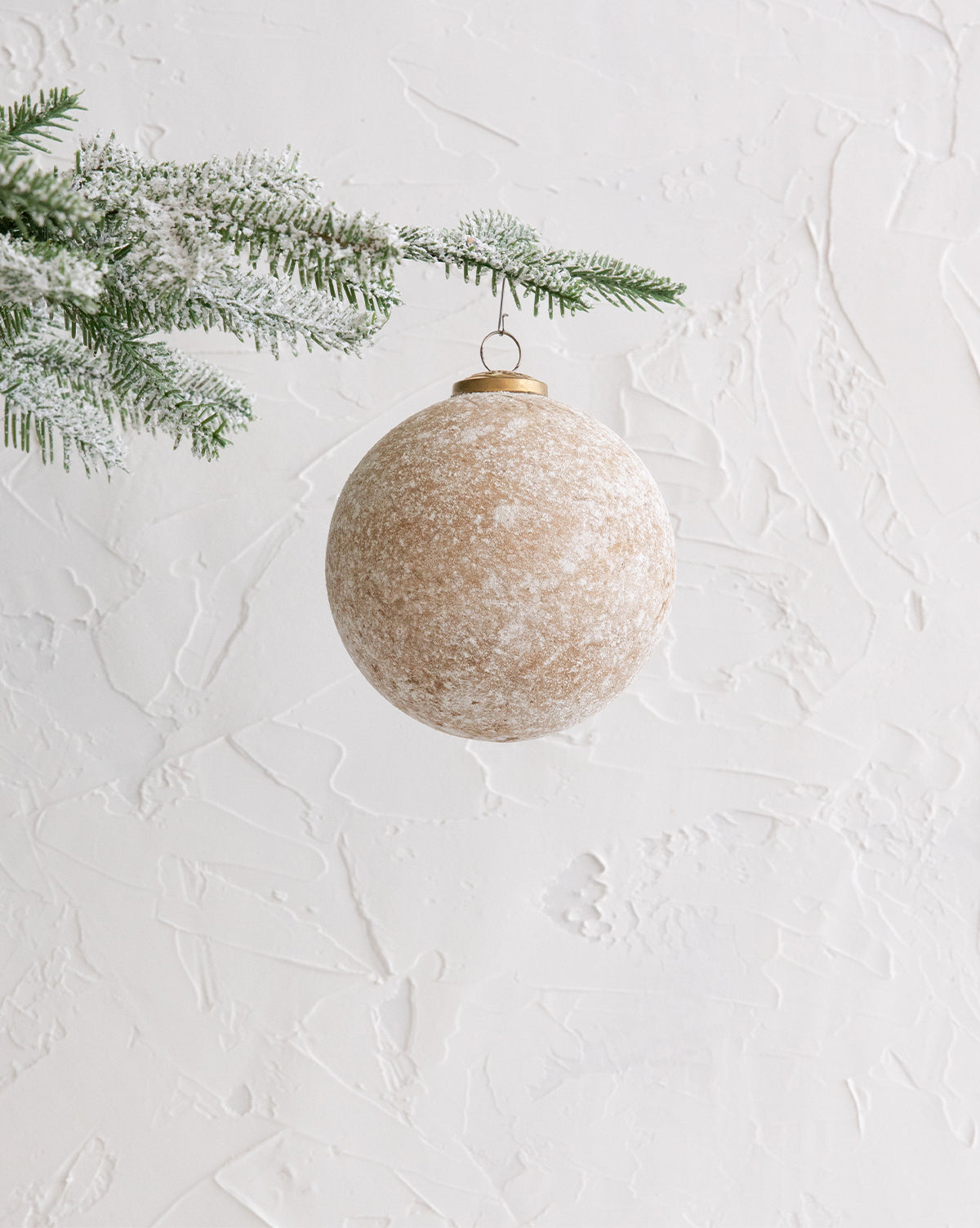 Dusted Gold Ornament