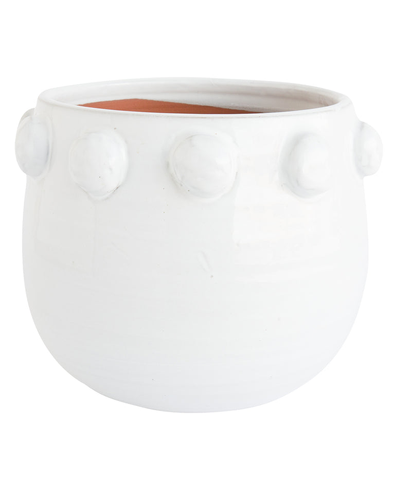 Dotted Terracotta Planter