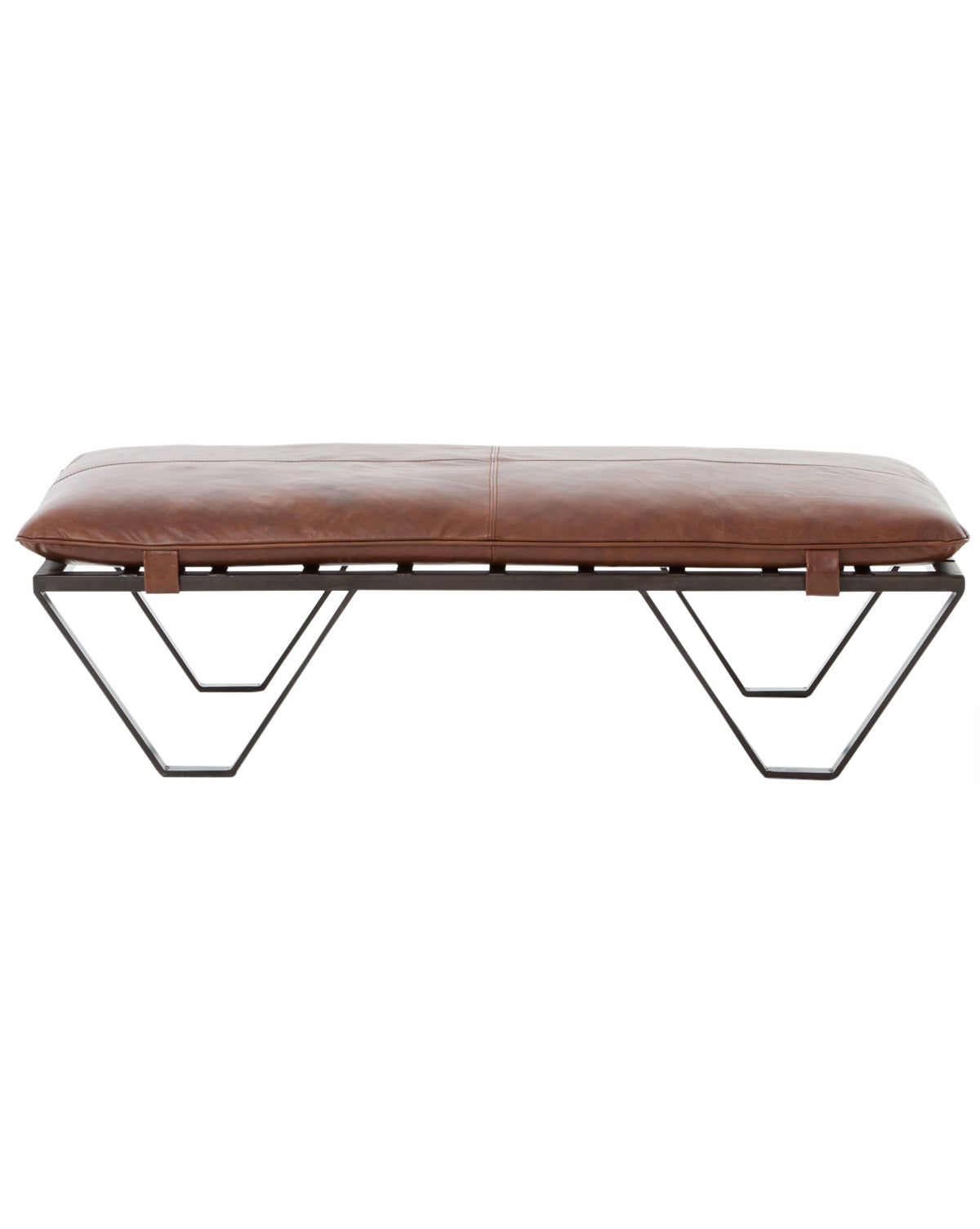 Miraculous Drew Ottoman Leather Furniture Mcgee Co Dailytribune Chair Design For Home Dailytribuneorg