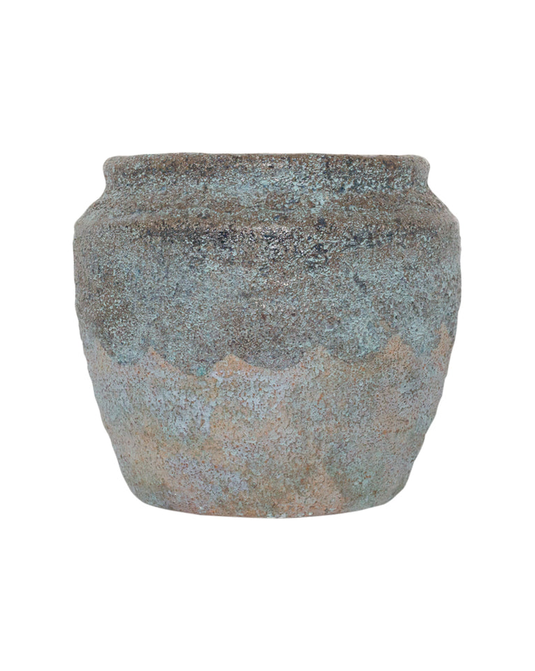 Earthy Textured Pot