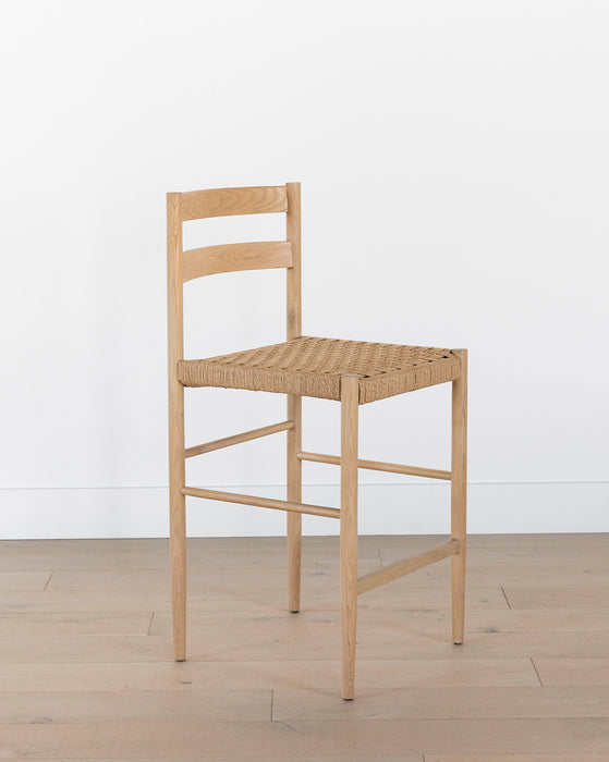 Eloise Woven Counter Stool