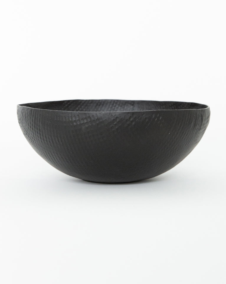 Embossed Black Bowl